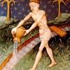 מזל דלי. מקור: ויקיפדיה ברשיון שימוש חופשי PD. איור מתוך: medieval book of astrology 15th century