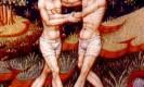 מזל תאומים. מקור: ויקיפדיה ברשיון שימוש חופשי PD. איורים מתוך : medieval book of astrology