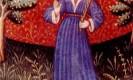 מזל בתולה. מקור: ויקיפדיה ברשיון שימוש חופשי PD. איור מתוך : medieval book of astrology